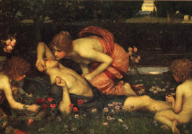 John Waterhouse Painting