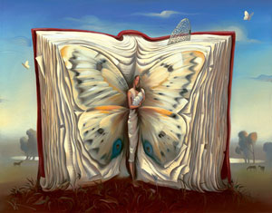 Book of Books by Vladimir Kush